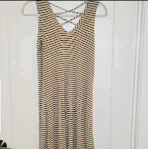 Sling dress with detailing